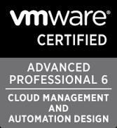 VCAP6-CMA design